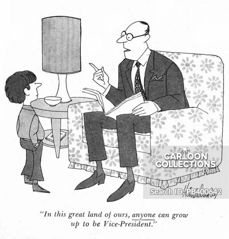 vice-president cartoon