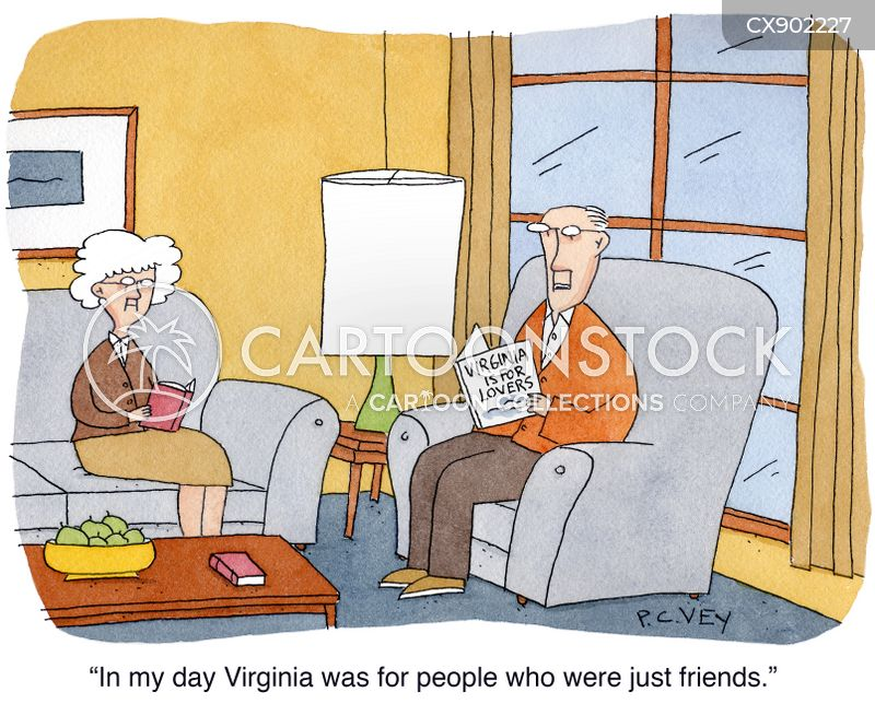 virginia cartoon
