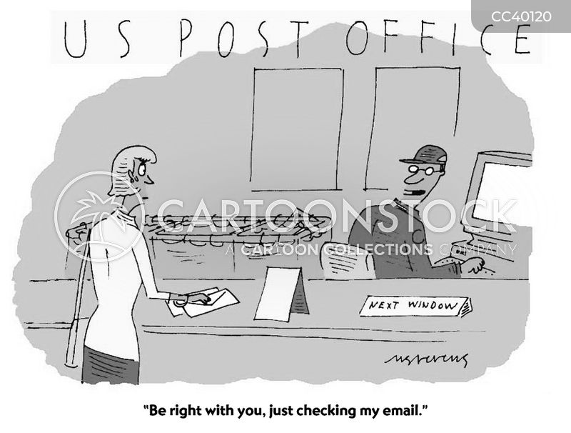 postman cartoon