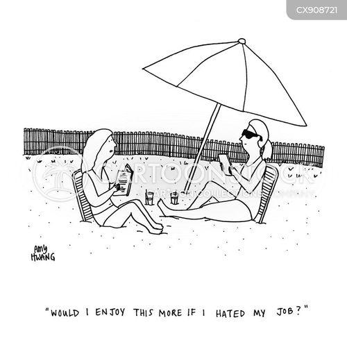 enjoys cartoon