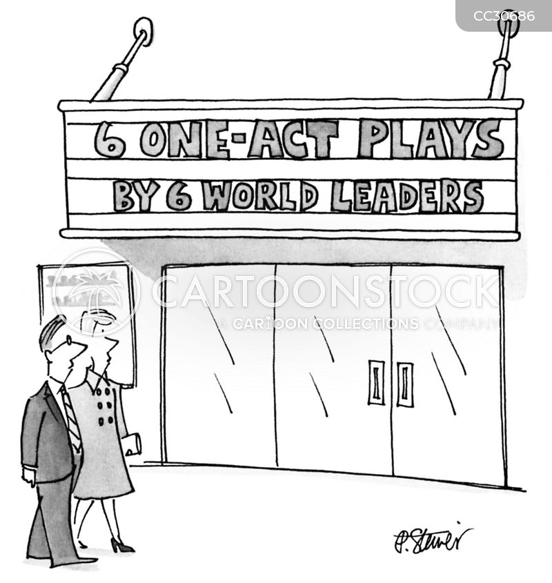 world leaders cartoon