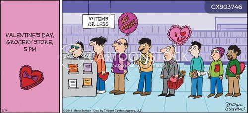 last minute gift cartoon