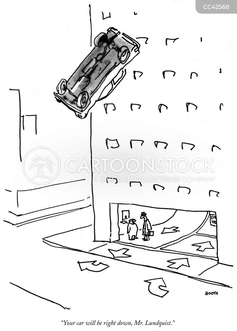 Parking Garage cartoons, Parking Garage cartoon, funny, Parking Garage picture, Parking Garage pictures, Parking Garage image, Parking Garage images, Parking Garage illustration, Parking Garage illustrations