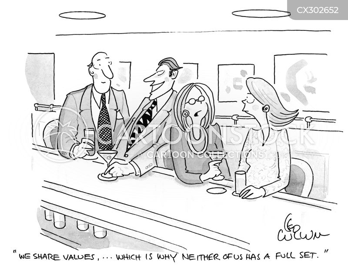 values cartoon