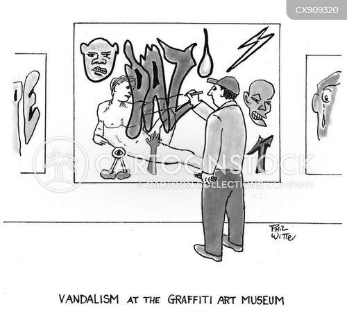 classical art cartoon