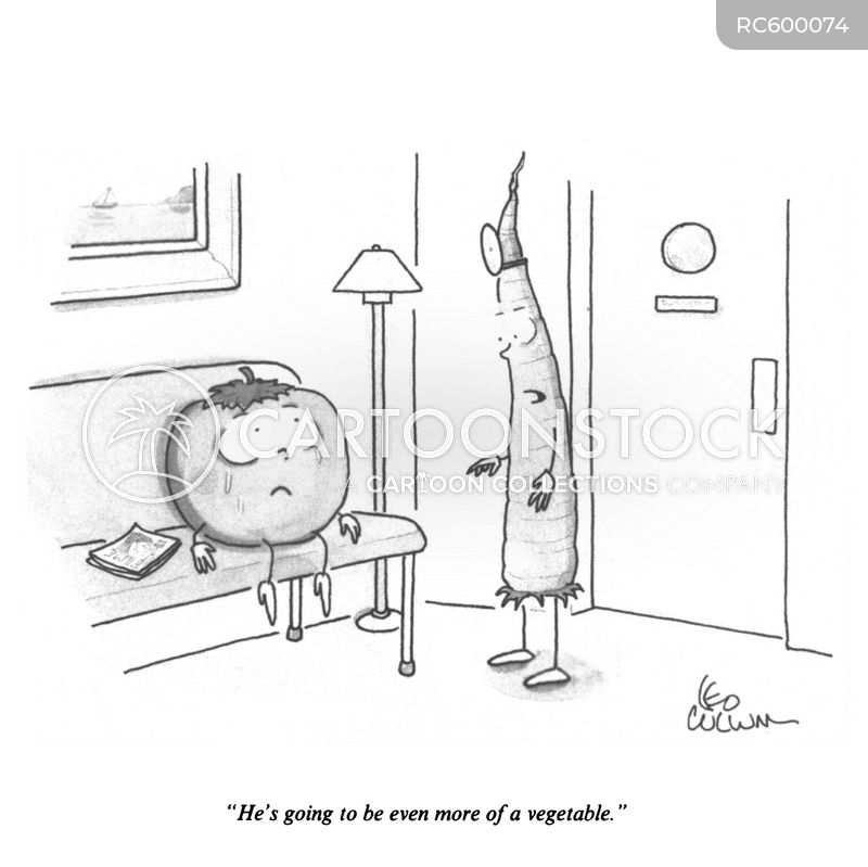 vegetative state cartoon