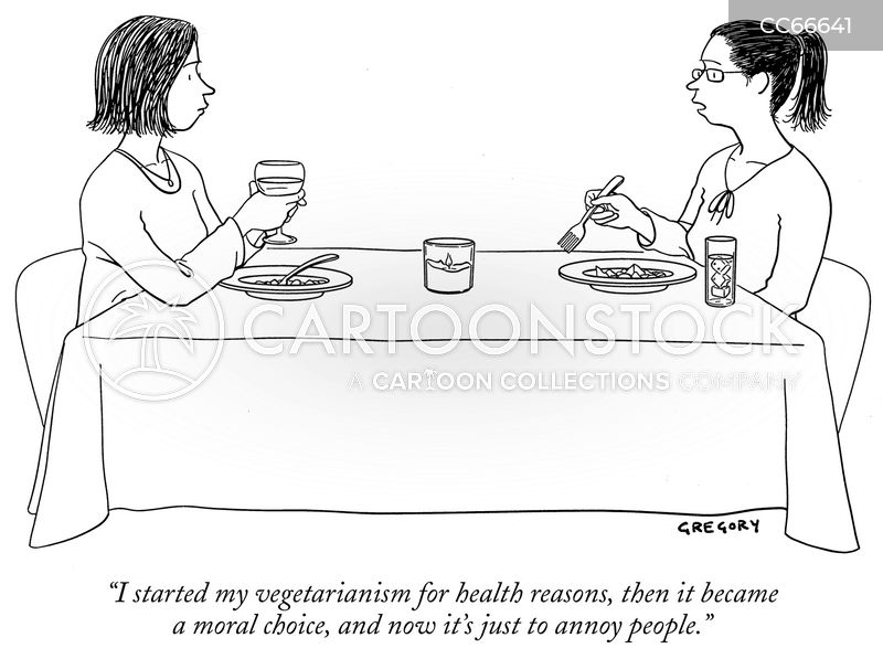 healthy eating cartoon