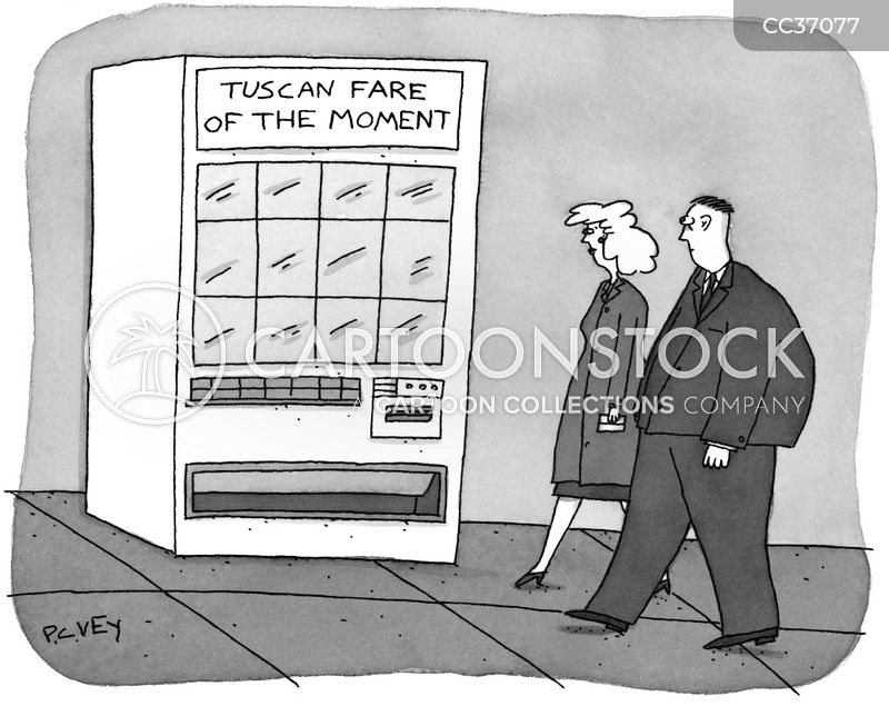 vending cartoon