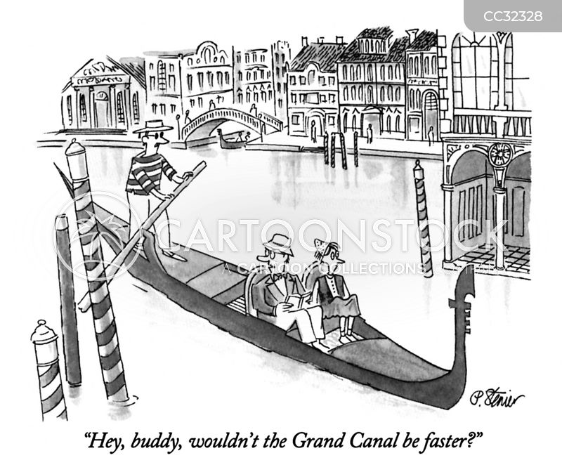 Venice cartoons, Venice cartoon, funny, Venice picture, Venice pictures, Venice image, Venice images, Venice illustration, Venice illustrations