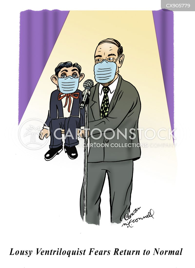 face masks cartoon