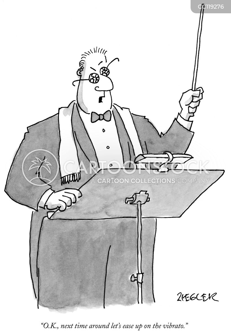 classical music cartoon