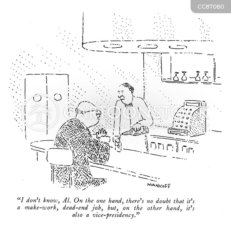bartenders cartoon