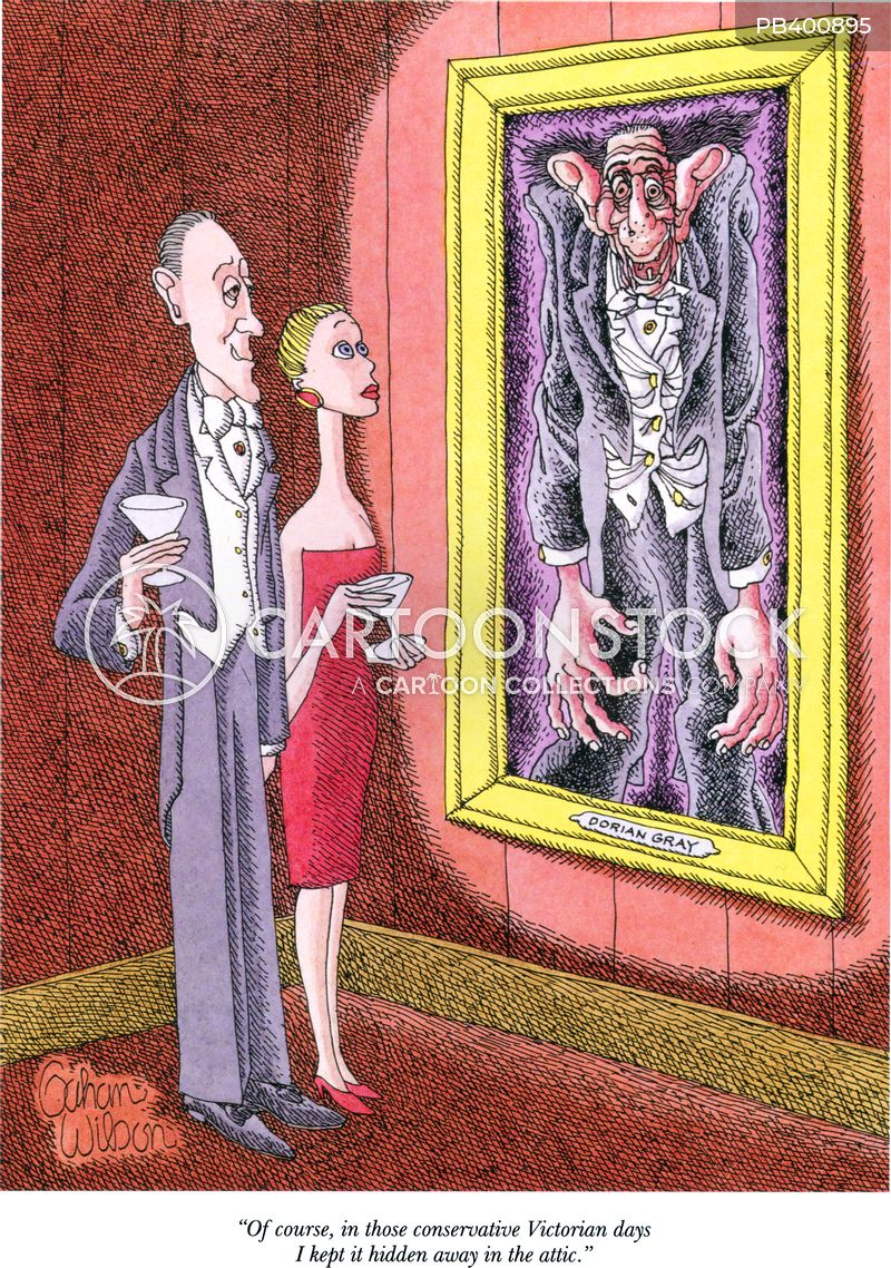 dorian gray cartoon