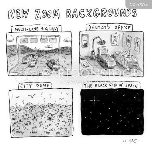 city dump cartoon