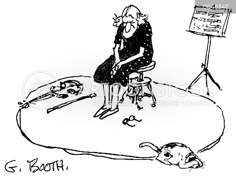 bad violinists cartoon