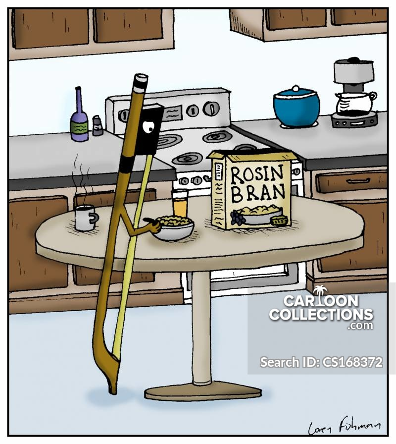 Rosin cartoon