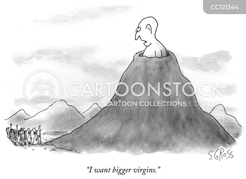 volcano cartoon