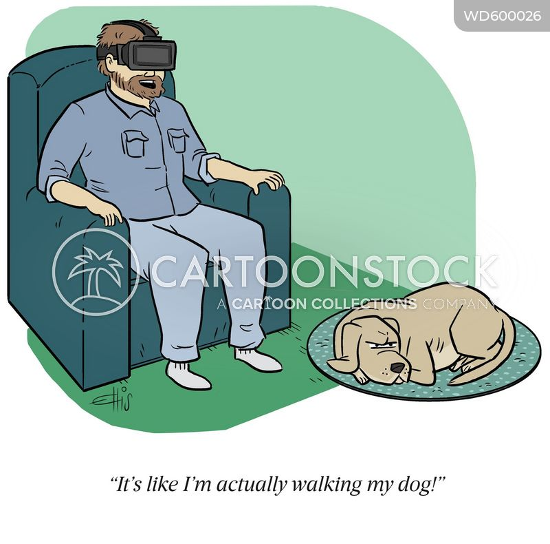 upset dog cartoon