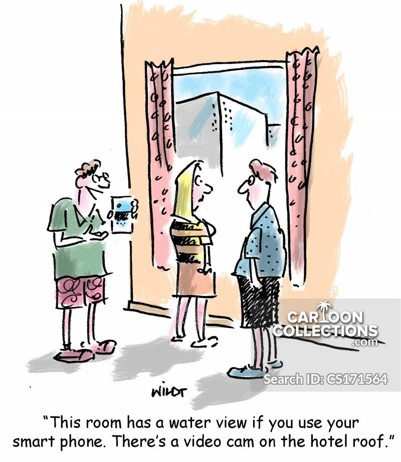 water views cartoon