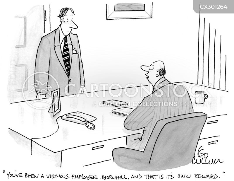 job reviews cartoon