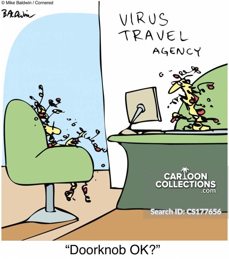 virus outbreaks cartoon