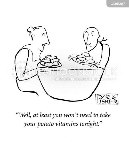 carbohydrates cartoon