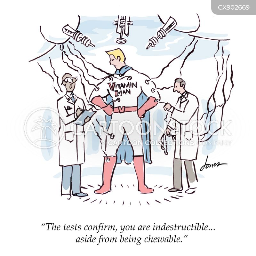 indestructible cartoon