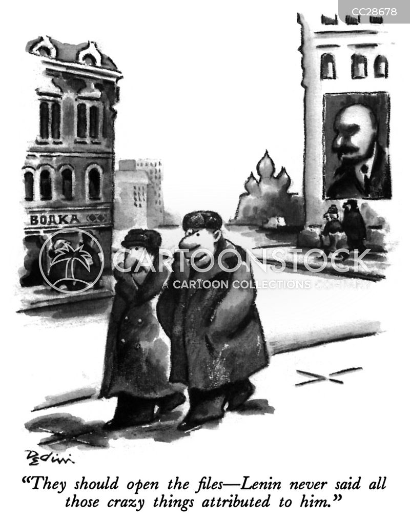 russian revolutionary cartoon