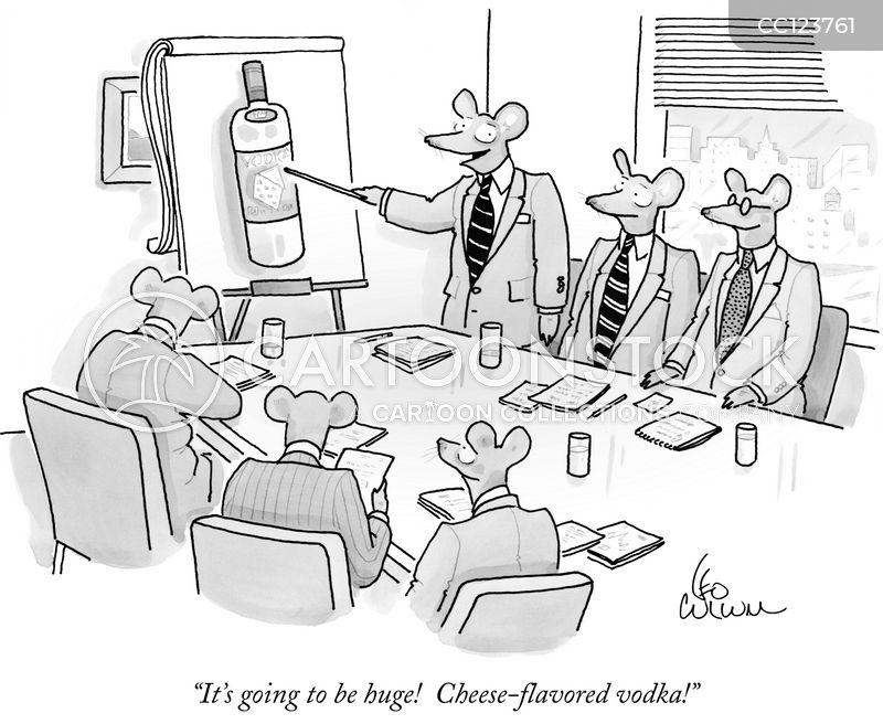 Vodka Flavours cartoon
