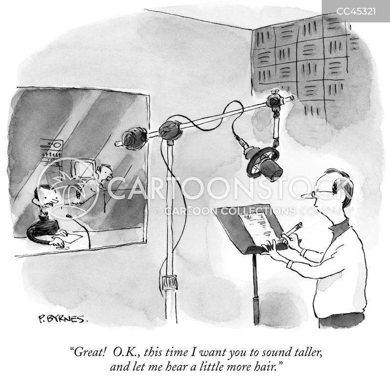 radio recordings cartoon