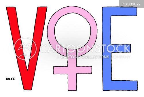 voting rights cartoon
