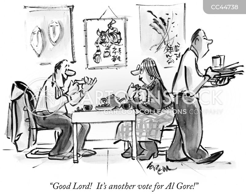 election campaigns cartoon