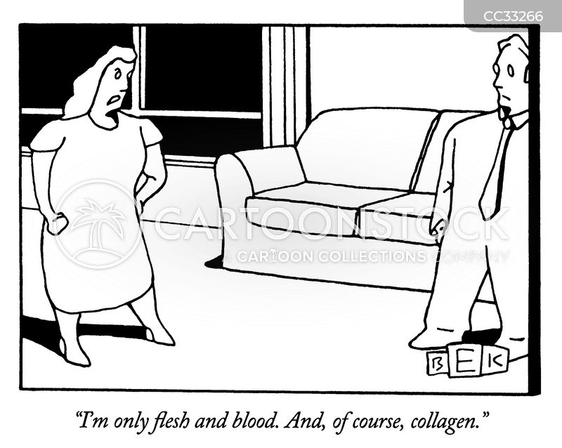 only flesh and blood cartoon