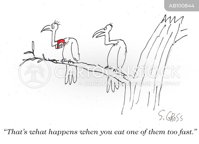 overeat cartoon
