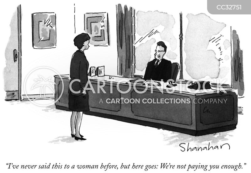 Misogynist cartoon