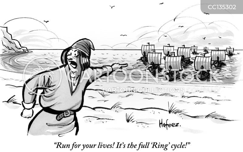 Ring Cycle cartoon