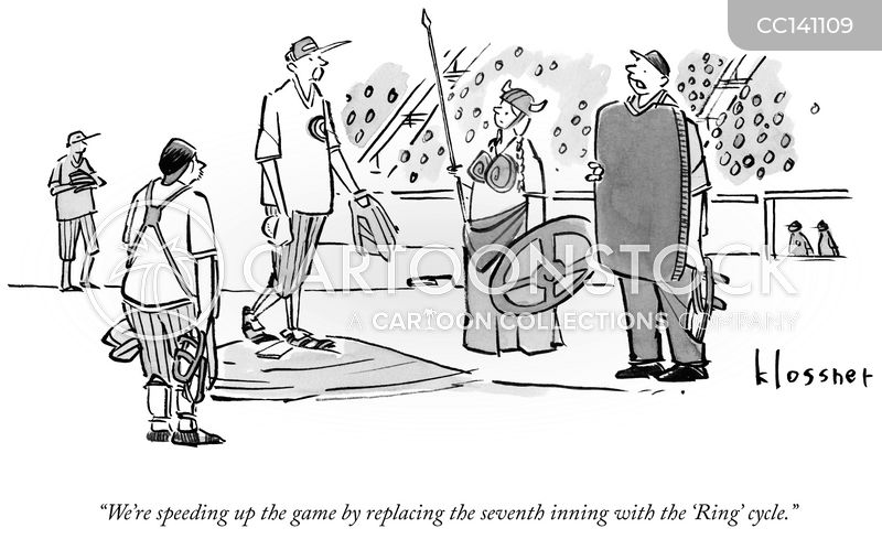 inning cartoon