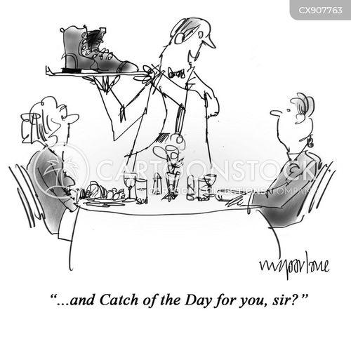 catches cartoon