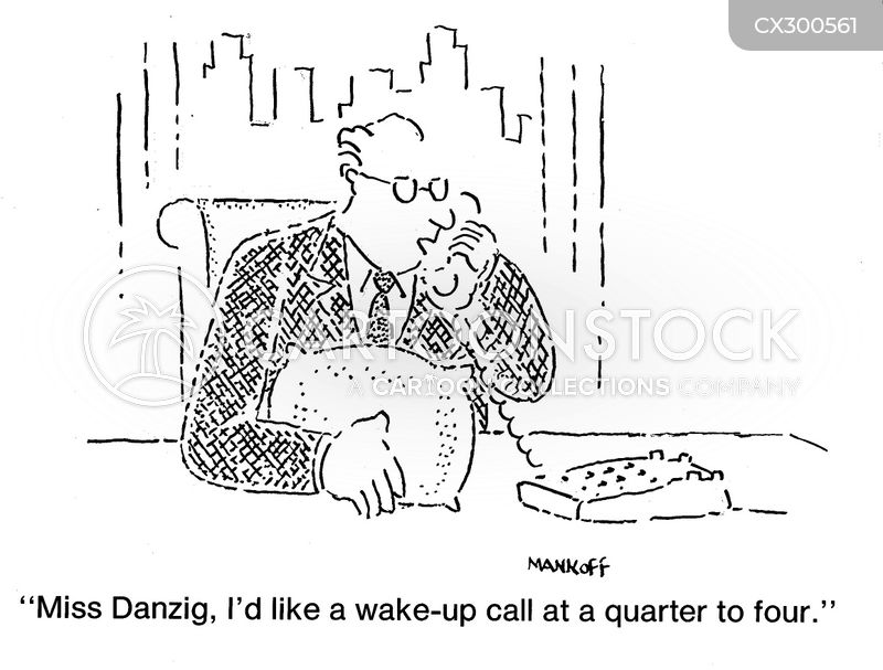 Wake-up Calls cartoons, Wake-up Calls cartoon, funny, Wake-up Calls picture, Wake-up Calls pictures, Wake-up Calls image, Wake-up Calls images, Wake-up Calls illustration, Wake-up Calls illustrations