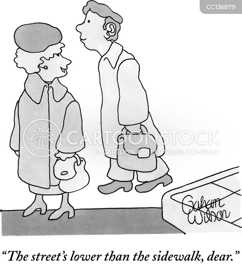 street cartoon