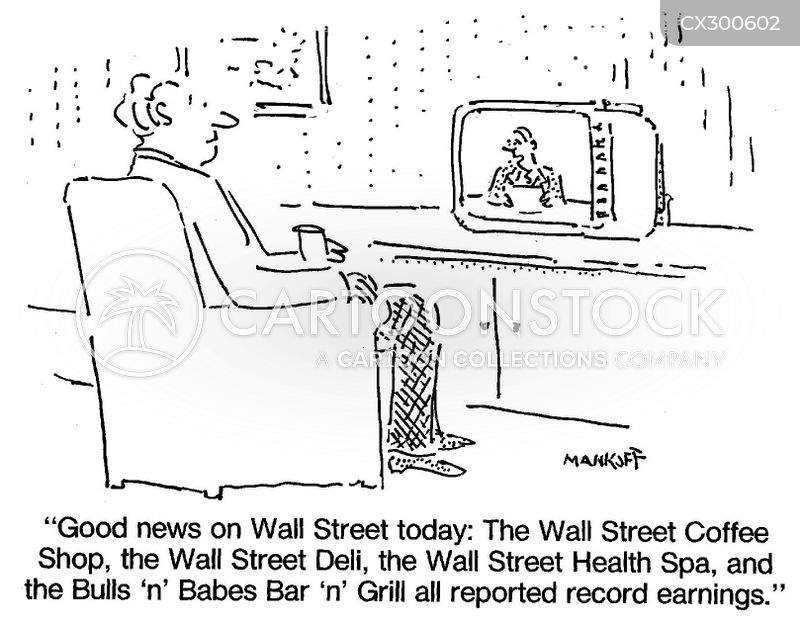 Wall St cartoon