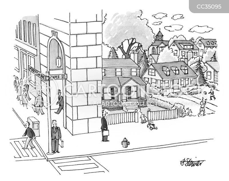 neighborhoods cartoon