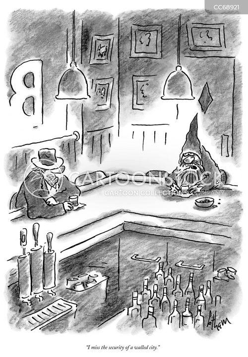sense of security cartoon