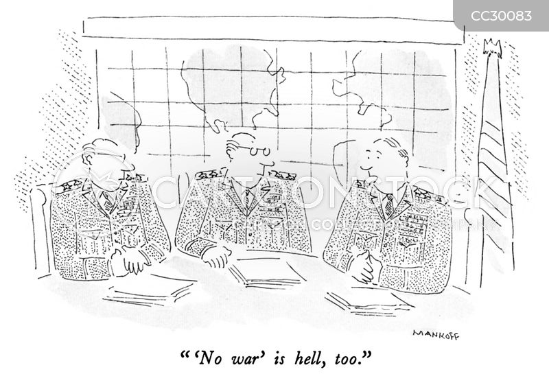 military industries cartoon