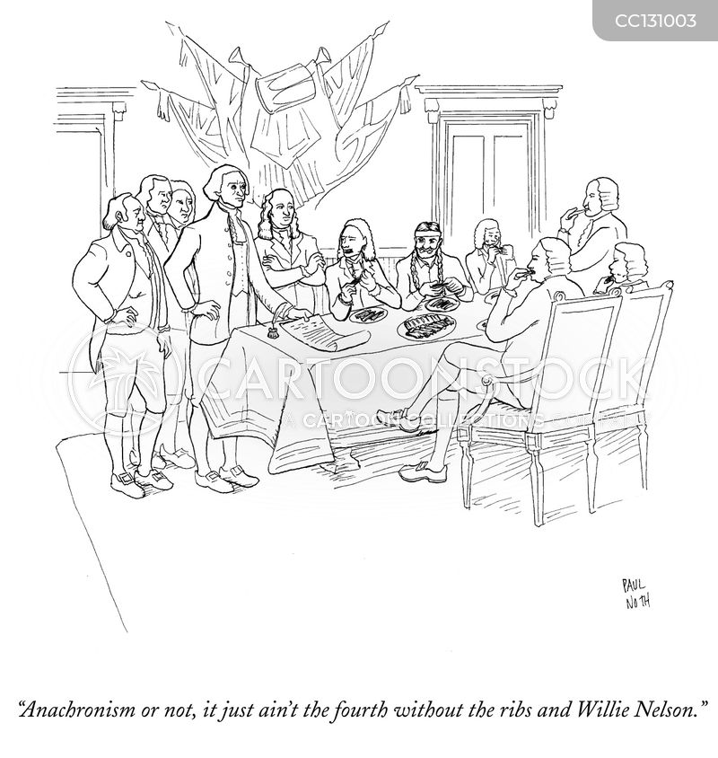 Alexander Hamilton cartoon
