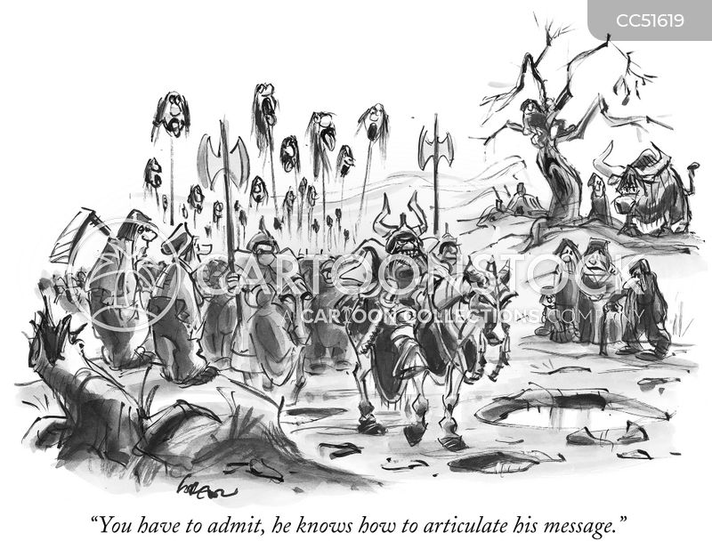 invading force cartoon