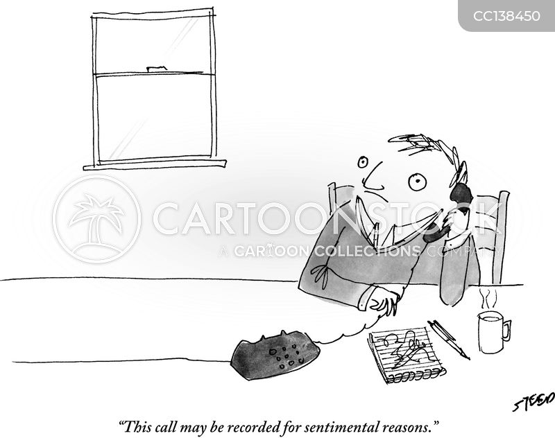 telemarketers cartoon