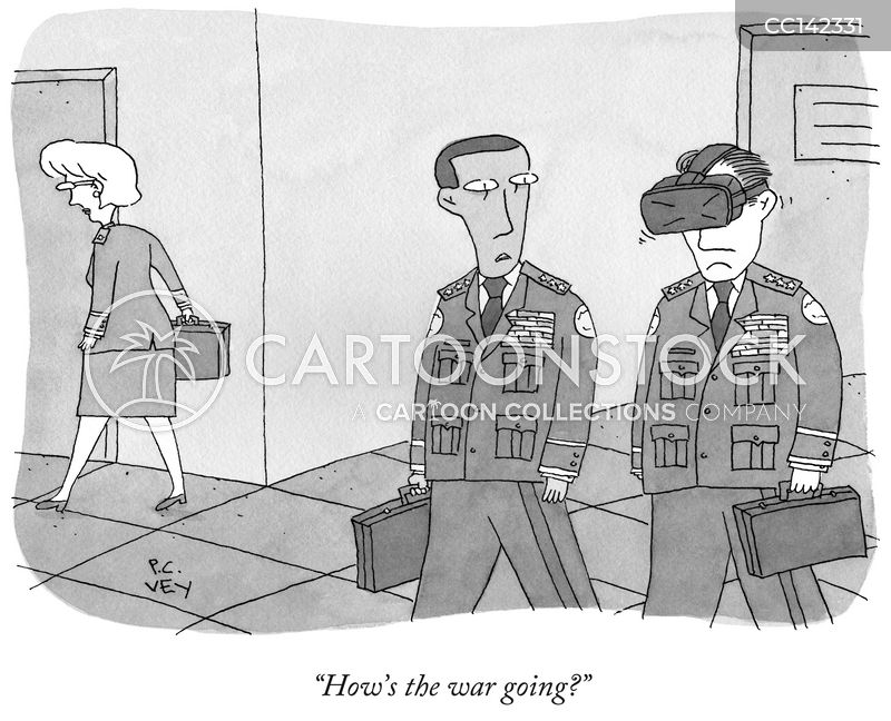 Drones cartoon