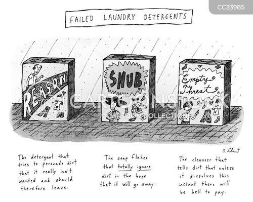 empty threats cartoon
