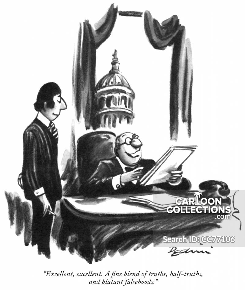 Officials cartoon